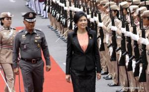 Yingluck and police
